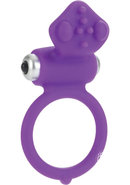 Body And Soul Affection Silicone Cockring Waterproof Purple...