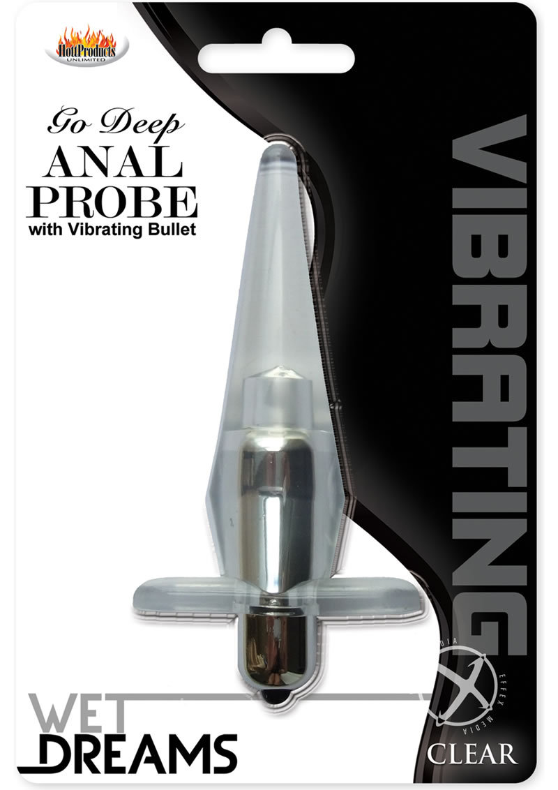 Wet Dreams Go Deep Anal Probe Clear