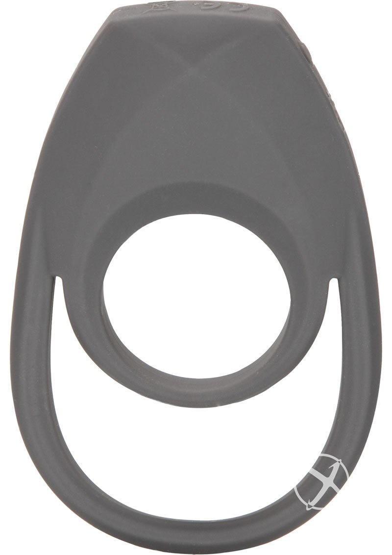 Apollo Rechargeable Silicone Support Ring Waterproof Grey