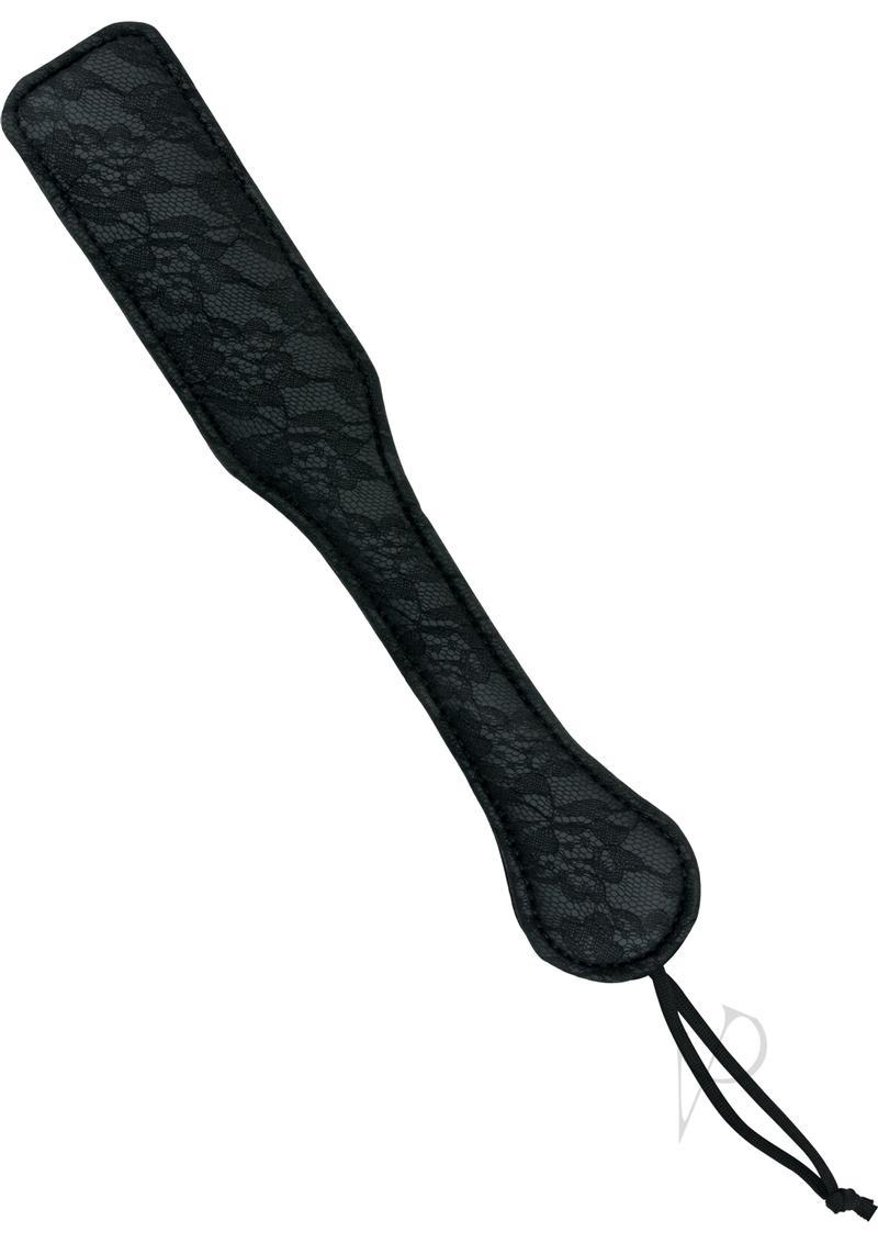 Midnight Lace Paddle Black 12 Inch