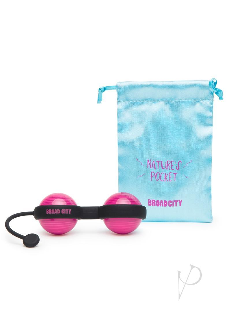 Broad City Nature`s Pocket Kegel Balls Hot Pink
